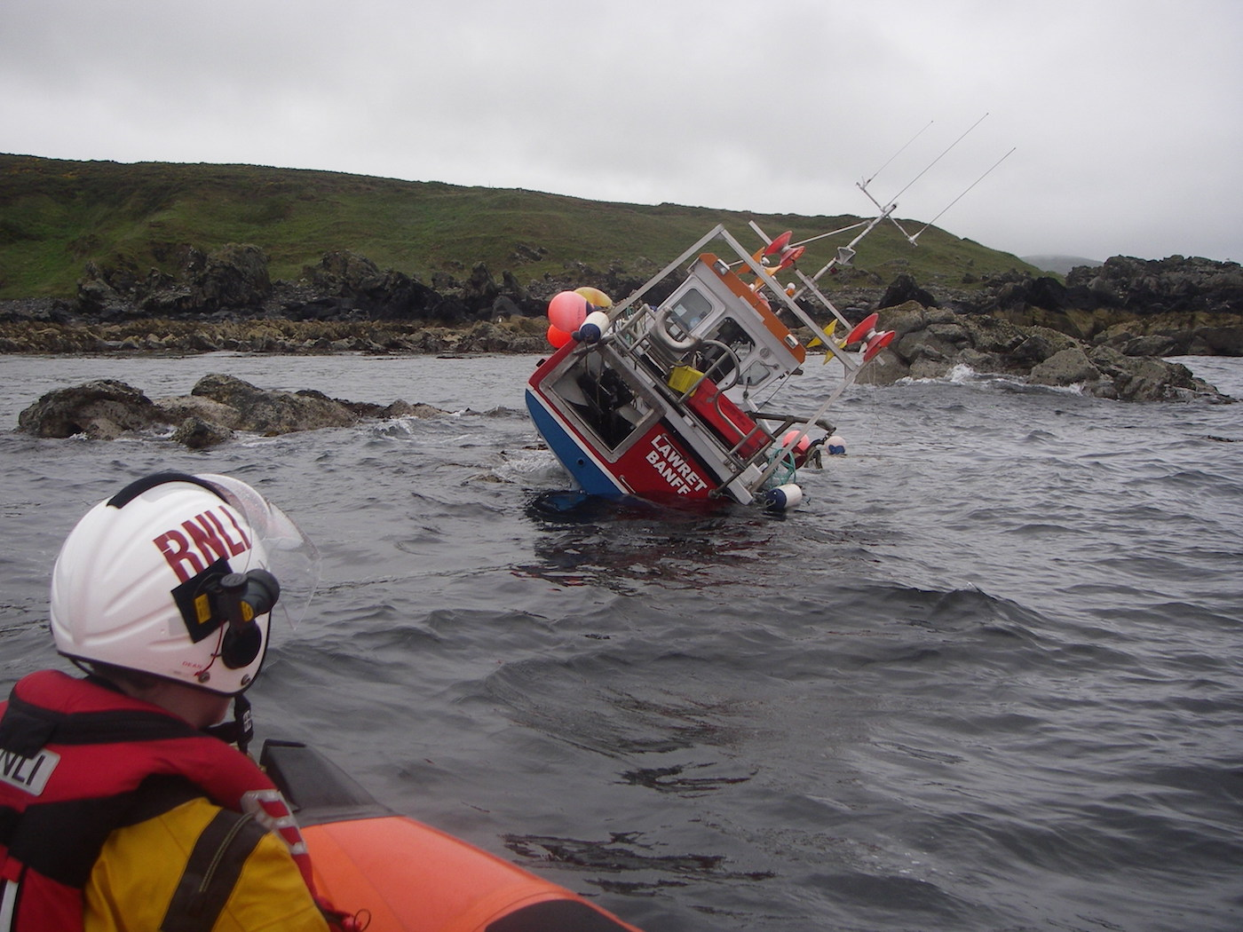 RNLI at work