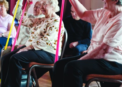 Parkinson's UK weekly exercise group